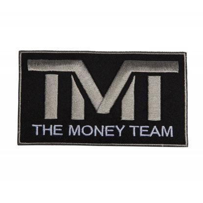 Изображение Наклейка TMT черный/серый один размер
