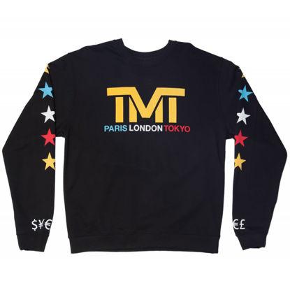 Изображение Реглан TMT Paris, London and Tokyo черный