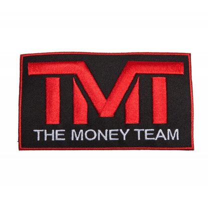 Изображение Наклейка TMT черный/красный один размер