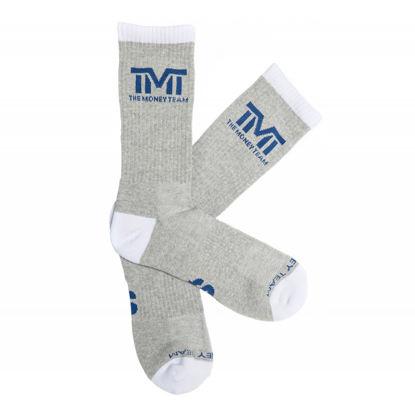 Изображение Носки TMT серый/белый 8-13