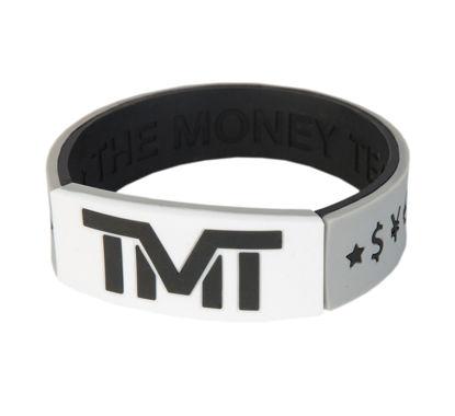 Изображение Браслет TMT серый/белый один размер