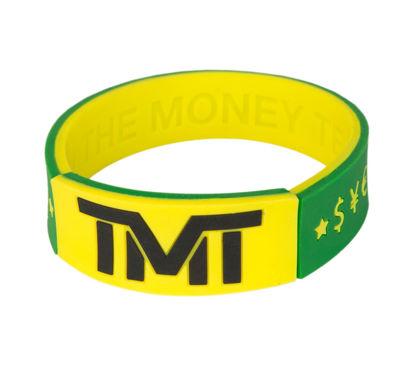 Изображение Браслет TMT зеленый/желтый один размер