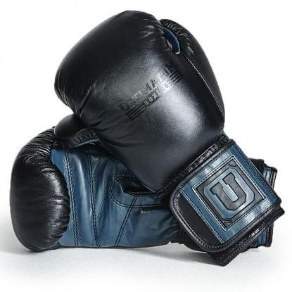 Изображение Спарринговые боксерские перчатки Ultimatum Gen3Spar черный/синий