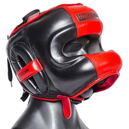 Шлем боксерский с бамперной защитой Ultimatum Gen3FaceBar Hammer
