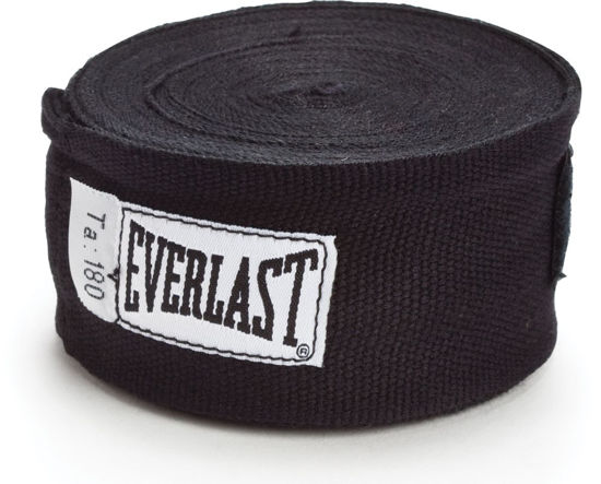 Изображение Классические мексиканские бинты Everlast черный 5,0х450см