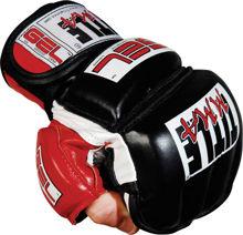 Изображение Перчатки для ММА тренировочные TITLE черный L