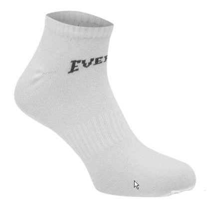 Изображение Носки Everlast низкие белый 41-45