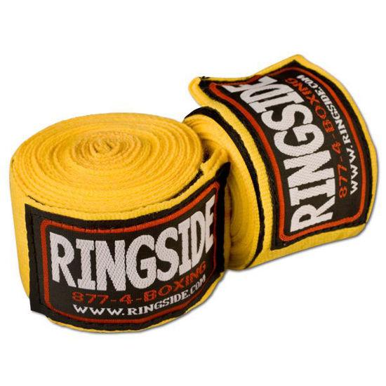 Изображение Бинты RINGSIDE Mexican-Style желтый 4,5 м