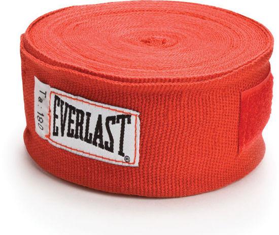 Изображение Классические мексиканские бинты Everlast красный 5,0х450см