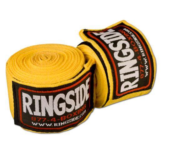 Изображение Бинты RINGSIDE Mexican-Style желтый 5,0х450см
