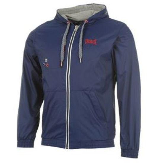 Изображение Куртка-дождевик с капюшоном Everlast тёмно-синий XXL