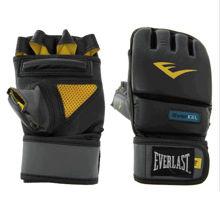 Изображение Снарядные перчатки  Everlast MMA чёрно-жёлтый S/M