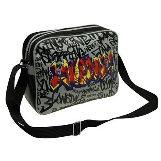 Изображение Сумка  LONSDALE Graffiti Fight Bag черный 50x26x26