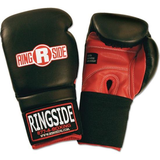 Изображение Тренировочные перчатки Ringside (юниорские) черный 12 oz