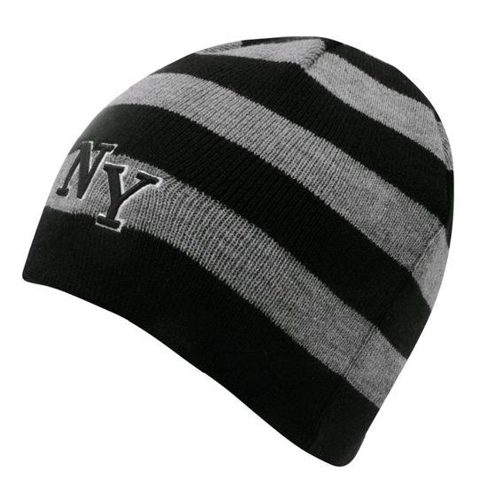 Изображение Шапка NY черный/серый один размер