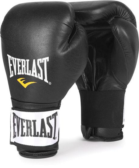 Изображение Тренировочные перчатки Everlast (на липучке) черный