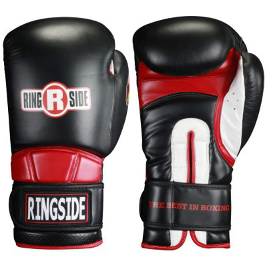 Изображение Тренировочные перчатки Ringside черный 20 oz