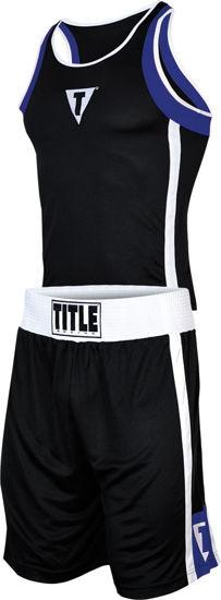 Изображение Форма для бокса Title черный/синий