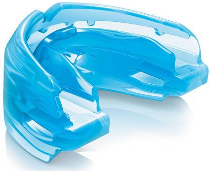 Изображение Капа для брекетов Shock Doctor двухчелюстные синий