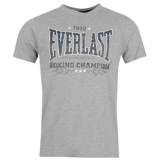 Изображение Футболка  Everlast Boxing 1910 серый