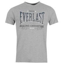Изображение Футболка  Everlast Boxing 1910 серый XL