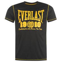 Изображение Футболка  Everlast 1910 черный/желтый L