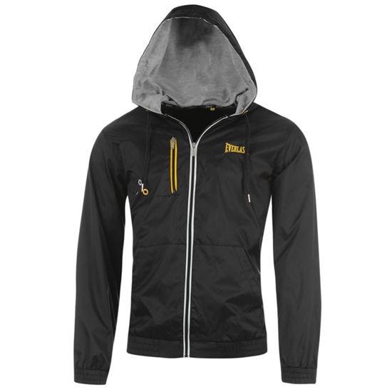Изображение Куртка-дождевик с капюшоном Everlast черный
