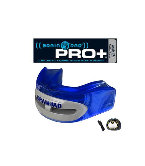 Изображение Капа боксерская BRAIN-PAD PRO PLUS синий один размер