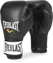 Изображение Тренировочные перчатки Everlast (на липучке) чёрный 16 oz