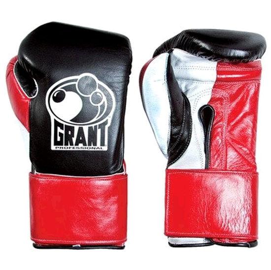 Изображение Тренировочные перчатки GRANT (на липучке) чёрный 10 oz