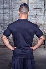 Изображение Футболка BodyCross черный/красный L