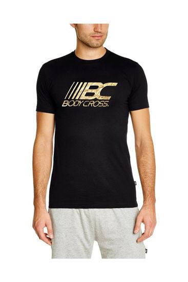 Изображение Футболка BodyCross черный/золотой