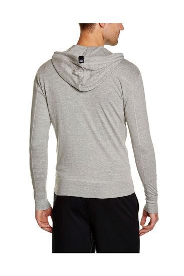 Изображение Мастерка с капюшоном BodyCross серый M