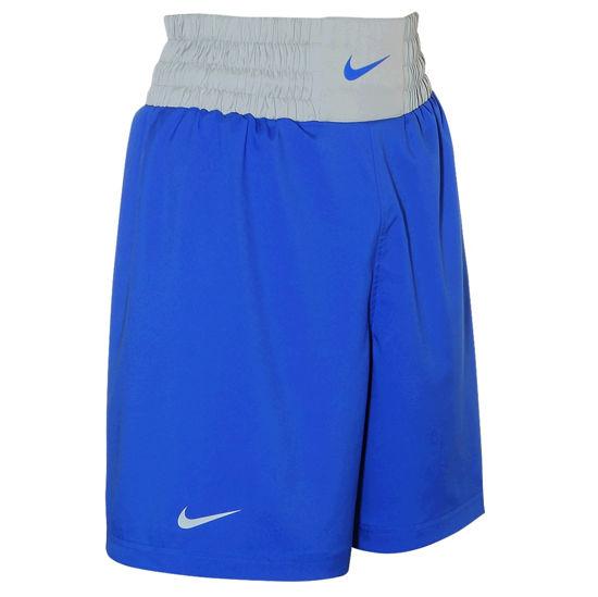 Изображение Шорты боксерские Nike синий