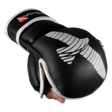 Изображение Перчатки для ММА PRO Hybrid Hayabusa черный S/M