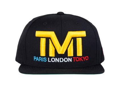 Изображение Бейсболка TMT Paris London Tokyo черный один размер