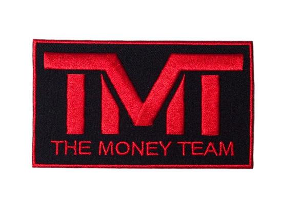 Изображение Наклейка TMT ID черный/красный один размер