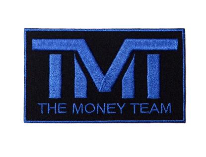 Изображение Наклейка TMT черный/синий один размер