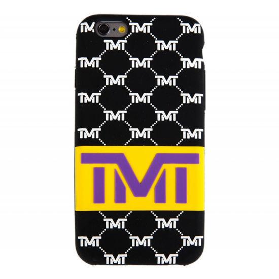 Изображение Чехол TMT IPhone 6+ черный/белый один размер