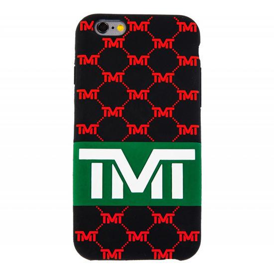 Изображение Чехол TMT IPhone 6 черный/красный один размер