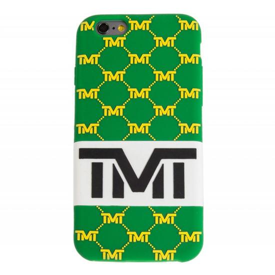 Изображение Чехол TMT IPhone 6 зеленый/желтый один размер