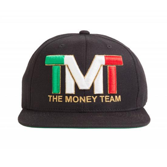 Изображение Бейсболка TMT черный/флаг Италия один размер