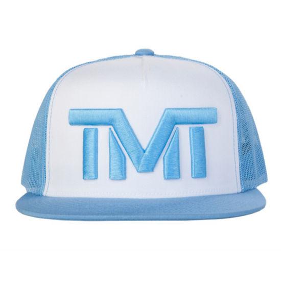 Изображение Бейсболка TMT белый/голубой один размер