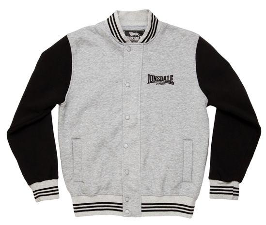 Изображение Куртка Lonsdale серый/черный XL