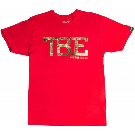 Изображение Футболка TMT TBE красный/золотой