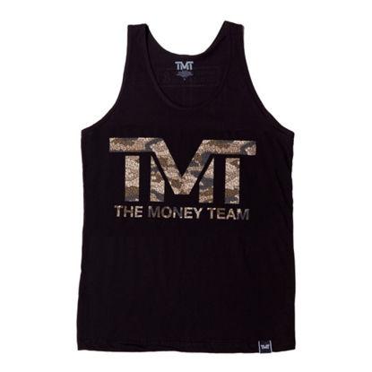 Изображение Майка для тренировок TMT MONEYFLAGE черный