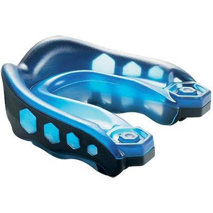Изображение Капа гелевая Shock Doctor Gel Max синий/черный один размер
