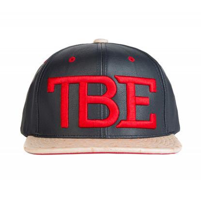Изображение Бейсболка TMT TBE черный/красный один размер