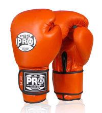 Изображение Тренировочные перчатки (на липучке) PRO красный 12 унций