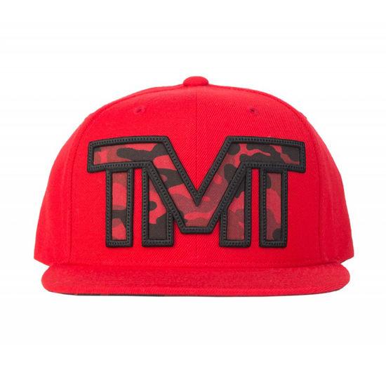 Изображение Бейсболка TMT MAYDAY красный/черный один размер